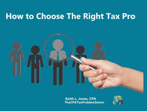 IRS Tax Relief Professional